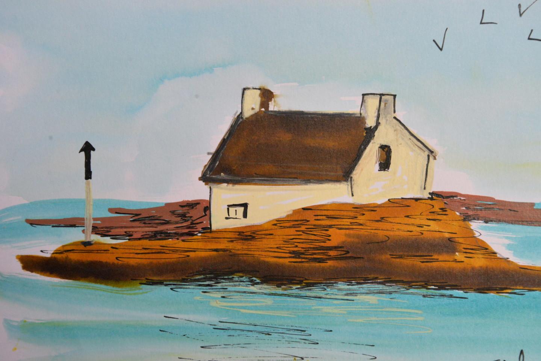 Jérôme Dufay - La maison sur son rocher