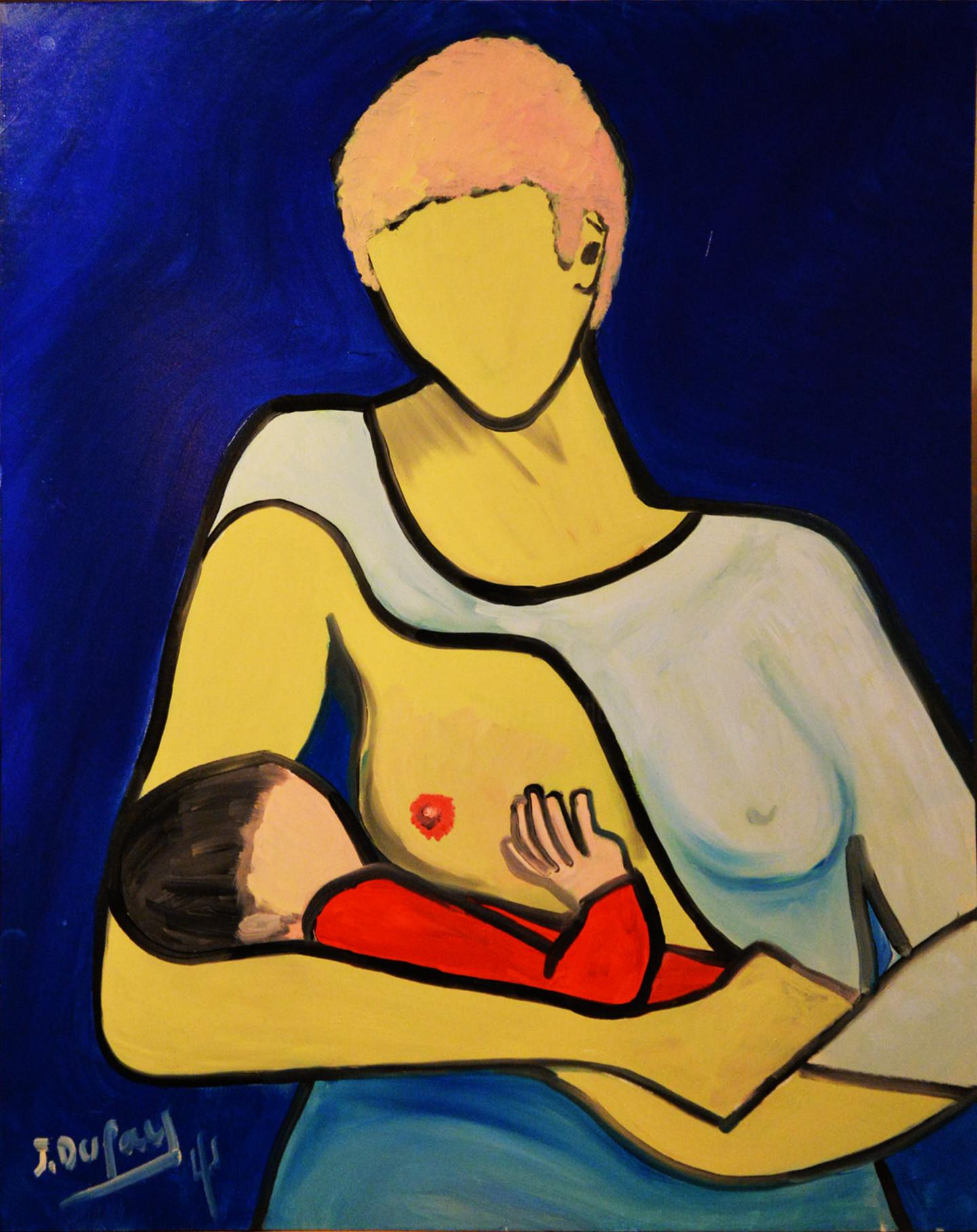 Jérôme Dufay - La mère et l'enfant